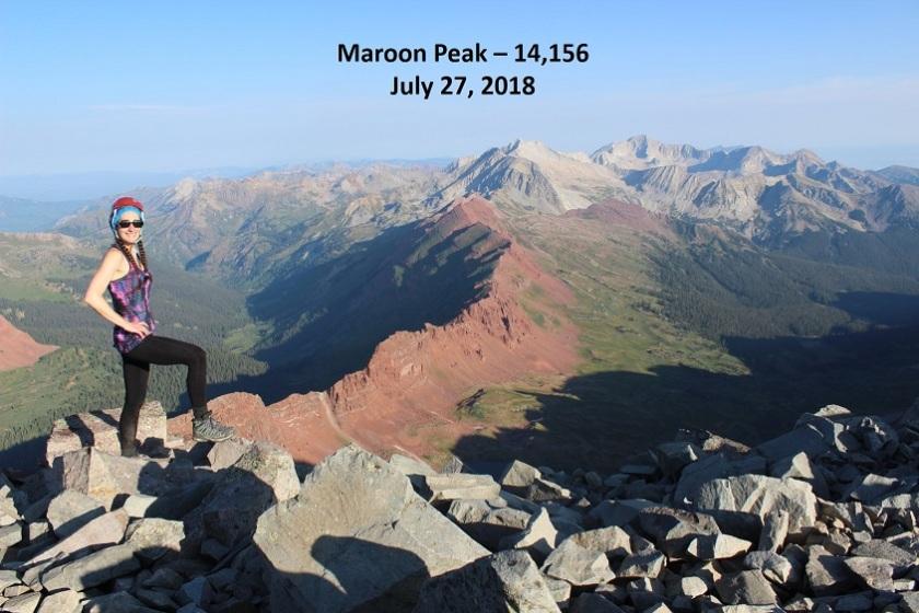 20 Maroon Peak 14156
